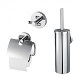Aqualux Combiset bad/toilet accessoires Pro 2000 1190820