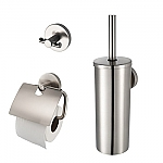 Aqualux Combiset bad/toilet accessoires Pro 2500 1190847