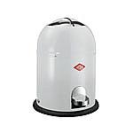 Wesco Singlemaster Soft 9 liter afvalemmer wit