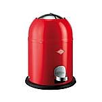 Wesco Singlemaster Soft 9 liter afvalemmer rood