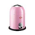 Wesco Singlemaster Soft 9 liter afvalemmer pink