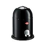 Wesco Singlemaster Soft 9 liter afvalemmer zwart