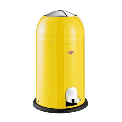 Wesco Kickmaster Junior 15 liter afvalemmer Geel