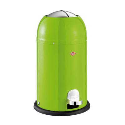 Wesco Kickmaster Junior 15 liter afvalemmer Limegreen