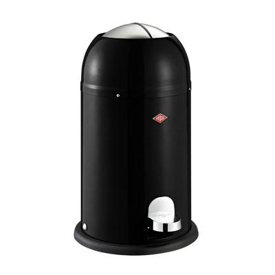 Wesco Kickmaster Junior 15 liter afvalemmer Zwart