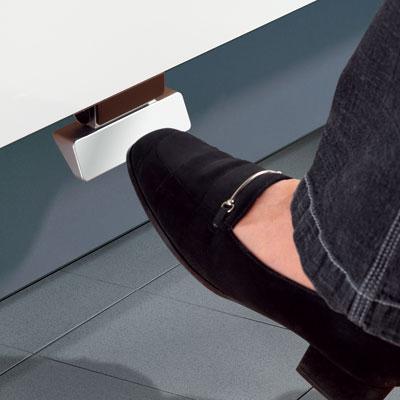 Hailo Kick & Go voetpedaal aluminium