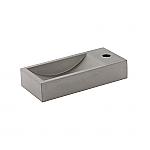 Cruxelles Fontein beton geïmpregneerd 40x18cm kraagat links (afbeelding = rechts)