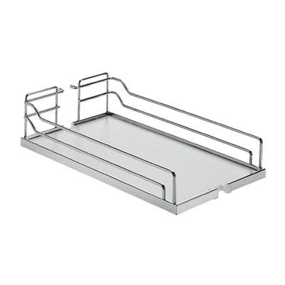 Kesseböhmer Dispensa Arena Vol-uittreksystemen 400mm chroom/wit