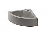 Cruxelles Hoekfontein beton geïmpregneerd 30x30cm 1 kraangat
