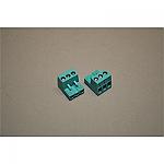 Nefit Aansluitklem 3-polig turquoise 73772 7746700126