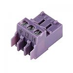 Nefit Aansluitklem 3-polig pz violet 7747023986