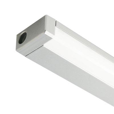 line led verlichtingselementen 230v 827mm 145w 1020lumen alu look lvll827