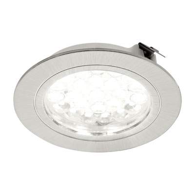 R-I LED spot - 12V. LVRINW neutraal wit Inox-Look