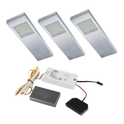 Dotty LED set + Touch-dimmer - 12V set van 3 LED spots LVSET3DOTD ...