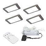 iP Emotion LED set van 4 Led spots - 12V RVS-look LVSET4IPE
