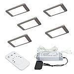 iP Emotion LED set van 5 Led spots - 12V RVS-look LVSET5IPE