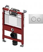 TECE inbouwreservoir 82cm front-/planchetbediening met TECEloop bedieningspaneel matchroom
