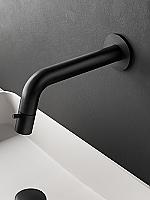 Hotbath Cobber fonteinkraan wand inkortbaar mat zwart UW001BL