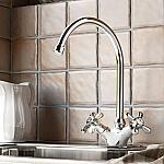 Hotbath Amice keukenkraan chroom A040CR