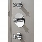 Hotbath Chap thermostaat inbouw met 2 stopkranen chroom HB007/C007EXTCR