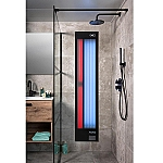 Xenz Feel Good Shower 6mm glas zwart FS6020ZW